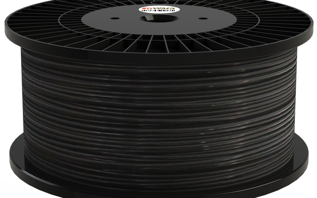 Volcano PLA Black 8000gr. 1.75mm